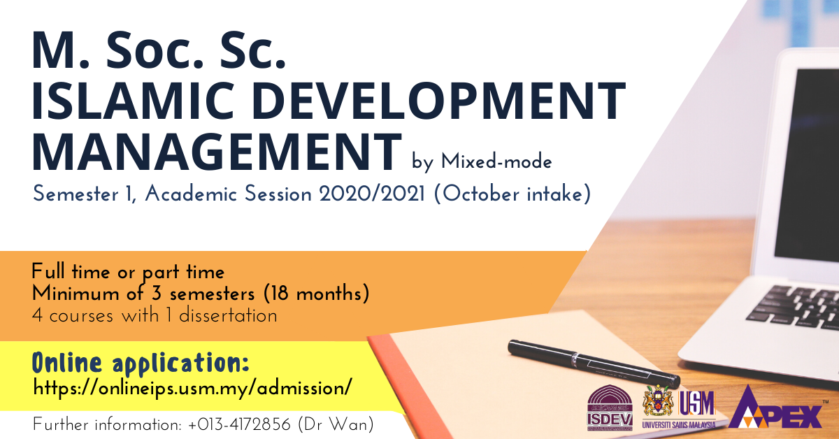 M. Soc. Sc. islamic development management